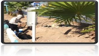 پروژه هوشمندسازی آبیاری فضای سبز میدان امام علی (ع) شهر یزد